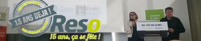 Evals et l'interactivité des 15 ans de RESO France